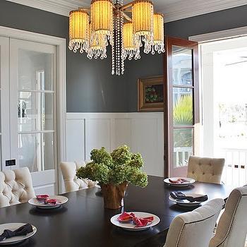 Dining Room Board And Batten Transitional Dining Room