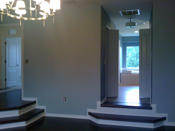 Entrance Foyer Behr Frosted Jade