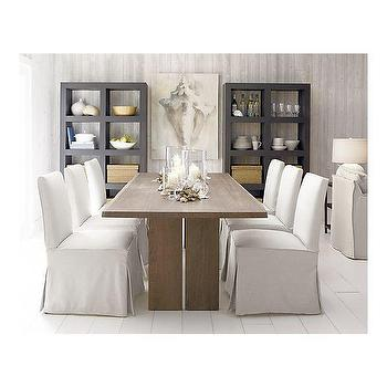Miles Side Chair Slipcover, Crate&Barrel