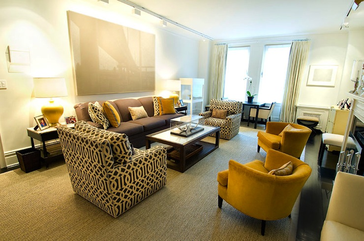 Mustard yellow sofa design ideas for Mustard living room ideas