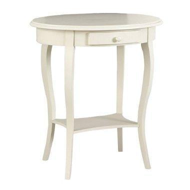 Martha End Table   Antique Ivory : Target