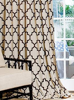 Curtains Ideas black and white patterned curtains : Black And White Geometric Curtains - Best Curtains 2017