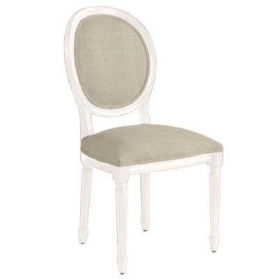 Ballard Designs Louis XVI Oval Back Side Chair Look 4 Less
