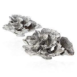 Decorative Chic Silver Faux Coral Table Decor