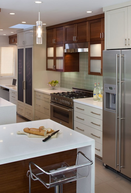 Cherry Kitchen Cabinets - Contemporary - kitchen - Artistic ...