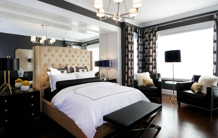 Black And Tan Bedroom @YI09 – Roccommunity