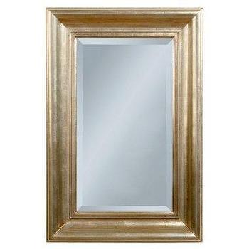 Rectangular Mirror, Silverleaf : Target