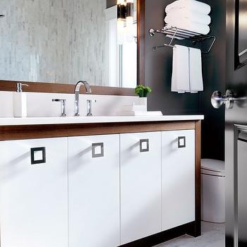 Two Tone Vanity, Contemporary, bathroom, Atmosphere Interior Design