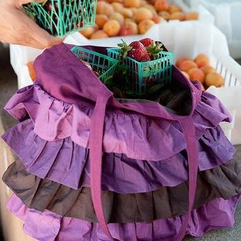 India Rose, Shop, Berry Pie Ruffle Bags