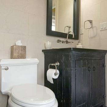 Distressed Vanity, Cottage, bathroom, AMI Designs