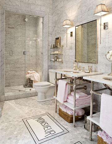 Waterworks Sinks French Bathroom House Beautiful