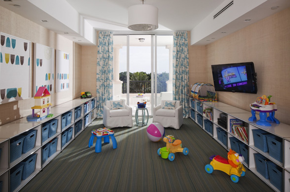 Playroom storage ideas contemporary boy 39 s room lauren stern design - Boys rooms with playrooms ...
