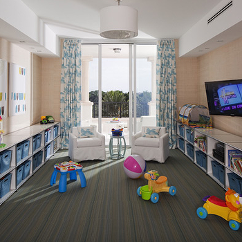 Playroom Storage Ideas, Contemporary, boy's room, Lauren Stern Design