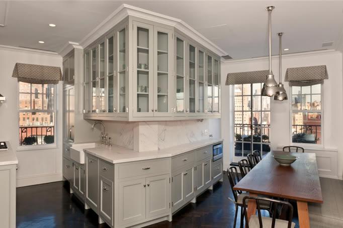 Angled Cabinets Design Ideas