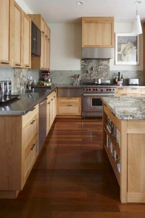Gallery For Natural Maple Cabinets With Dark Wood Floors
