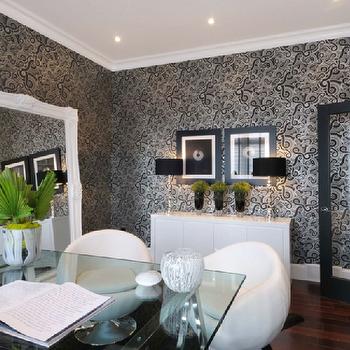 Baroque Floor Mirror Design Ideas