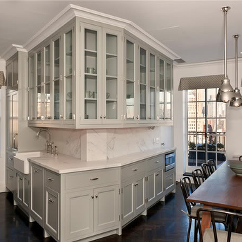 Angled Kitchen Cabinets - Rooms