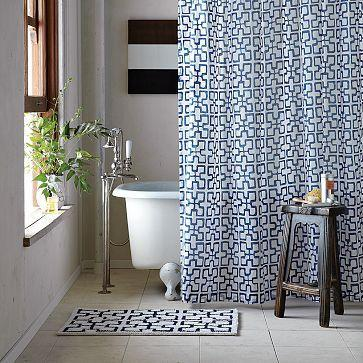 Trellis Shower Curtain - west elm