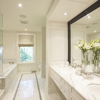 Floating Bathroom Cabinets, Transitional, bathroom, Meredith Heron Design