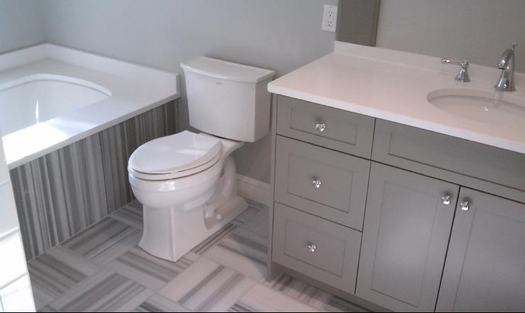 gray bathroom grey and white striped marble grey sherwin williams