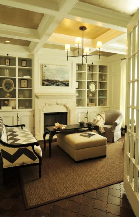 Built In Cabinets - Contemporary - living room - Beckwith Interiors