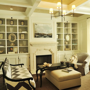 Built In Cabinets, Contemporary, living room, Beckwith Interiors