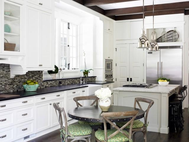 Eat In Kitchen Ideas Transitional Kitchen Sherwin