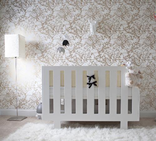 Ferm Living Wilderness Wallpaper Contemporary Nursery