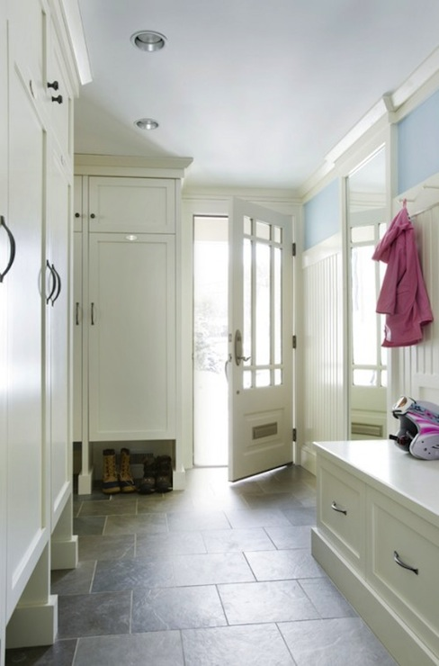 Mud room design traditional laundry room venegas and for Mudroom floors