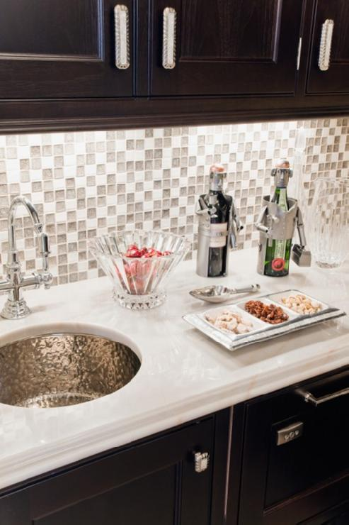 glass tile backsplash contemporary kitchen venegas and company
