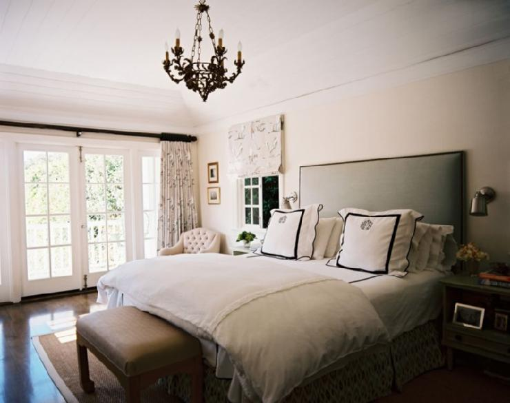 monogrammed bedding design ideas