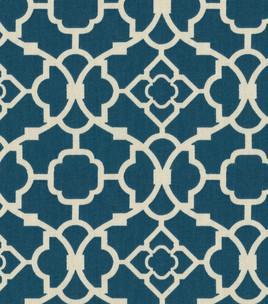 Home Decor Fabric Waverly Lovely Lattice Lapis: Home Decor Print Fabric : Home Decor Fabric U0026 Hardware...