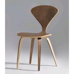 Norman Cherner Side Chair Replica   American Walnut Wood Chair   Discount Norman  Cherner Chair