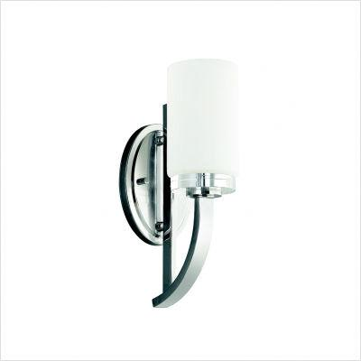 kichler 45018ch reynes wall sconce in chrome csn lighting