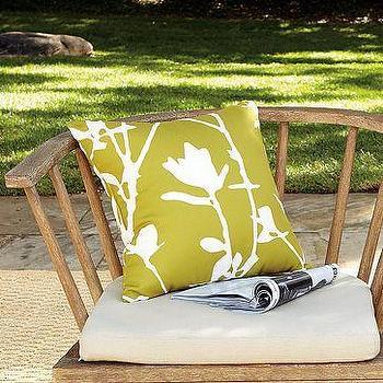 Outdoor Wildflower Pillow, west elm
