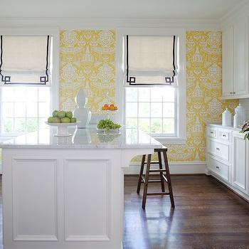Kitchen Roman Shades Design Ideas