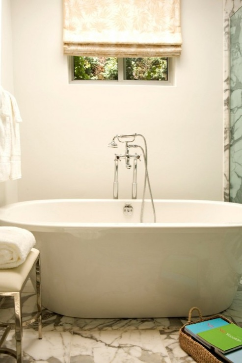Modern Chrome Tub Filler Design Ideas