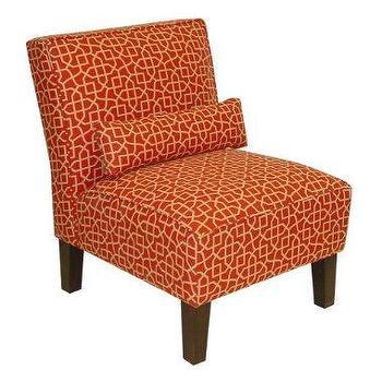 Upholstered Slipper Chair West Elm