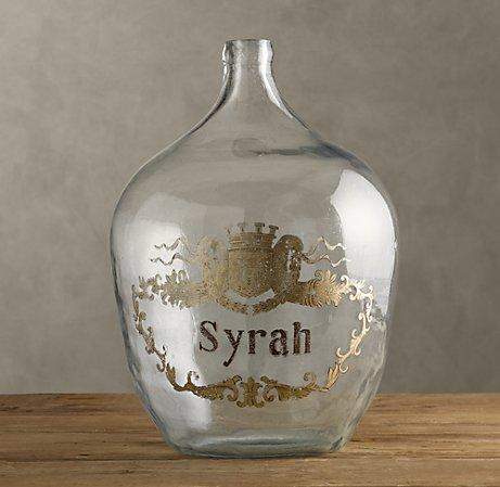 1920s Hand Blown Wine Bottle Syrah Obj 195 170 Ts D Art