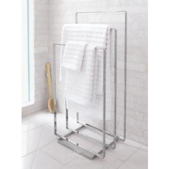 CB2, chrome towel rack