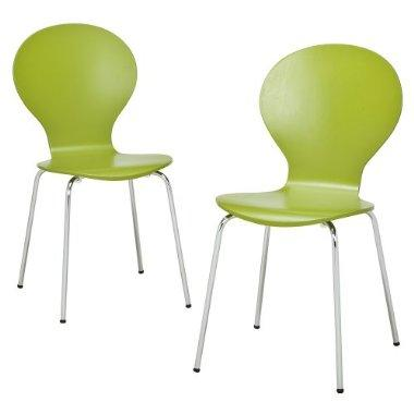 Awesome Modern Stacking Chairs 2 Pk Green Target Bralicious Painted Fabric Chair Ideas Braliciousco