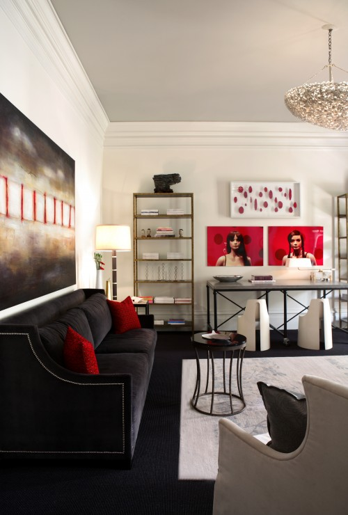 Red Sofa Design Ideas