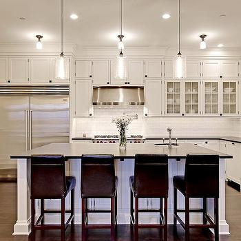 Cloud White Kitchen Cabinets, Transitional, kitchen, Benjamin Moore Morning Dew, Paul Moon Design