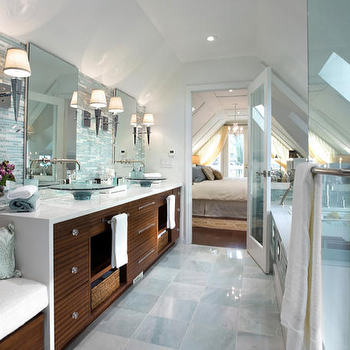 Candice Olson Bathroom, Contemporary, bathroom, Brandon Barre Photography