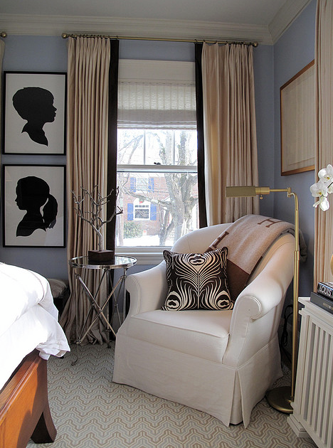 Chic Blue Bedroom Chic Blue Bedroom Design With