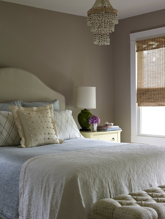 Milk Chocolate Walls Transitional Bedroom Bella