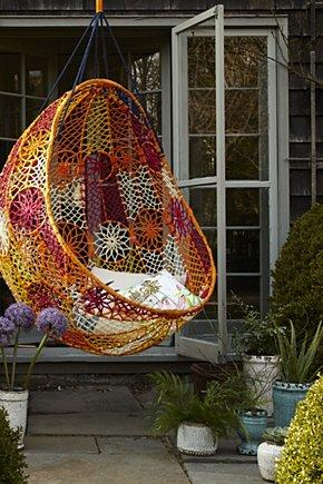 Superior Knotted Melati Hanging Chair   Anthropologie.com
