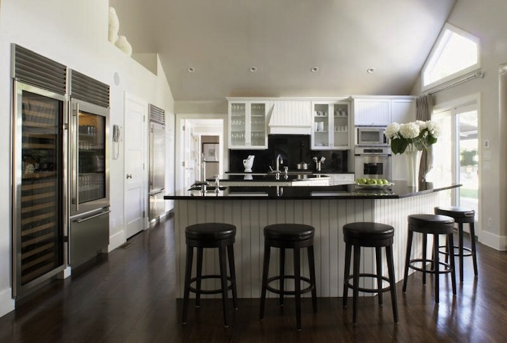 Angled Kitchen Island Ideas With Seating