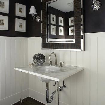 Lucite Washstand, Transitional, bathroom, Carlos Miranda Design