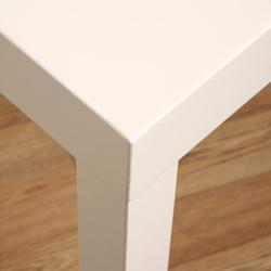 White Wood Dining Table, Overstock.com